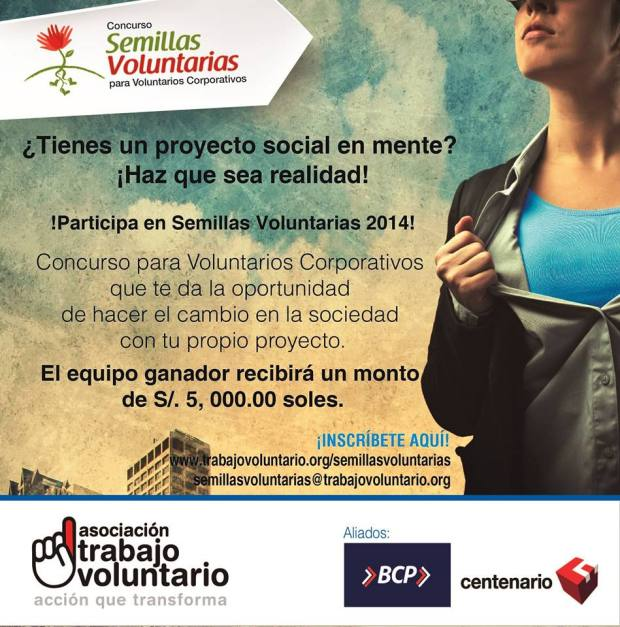 semillas voluntarias